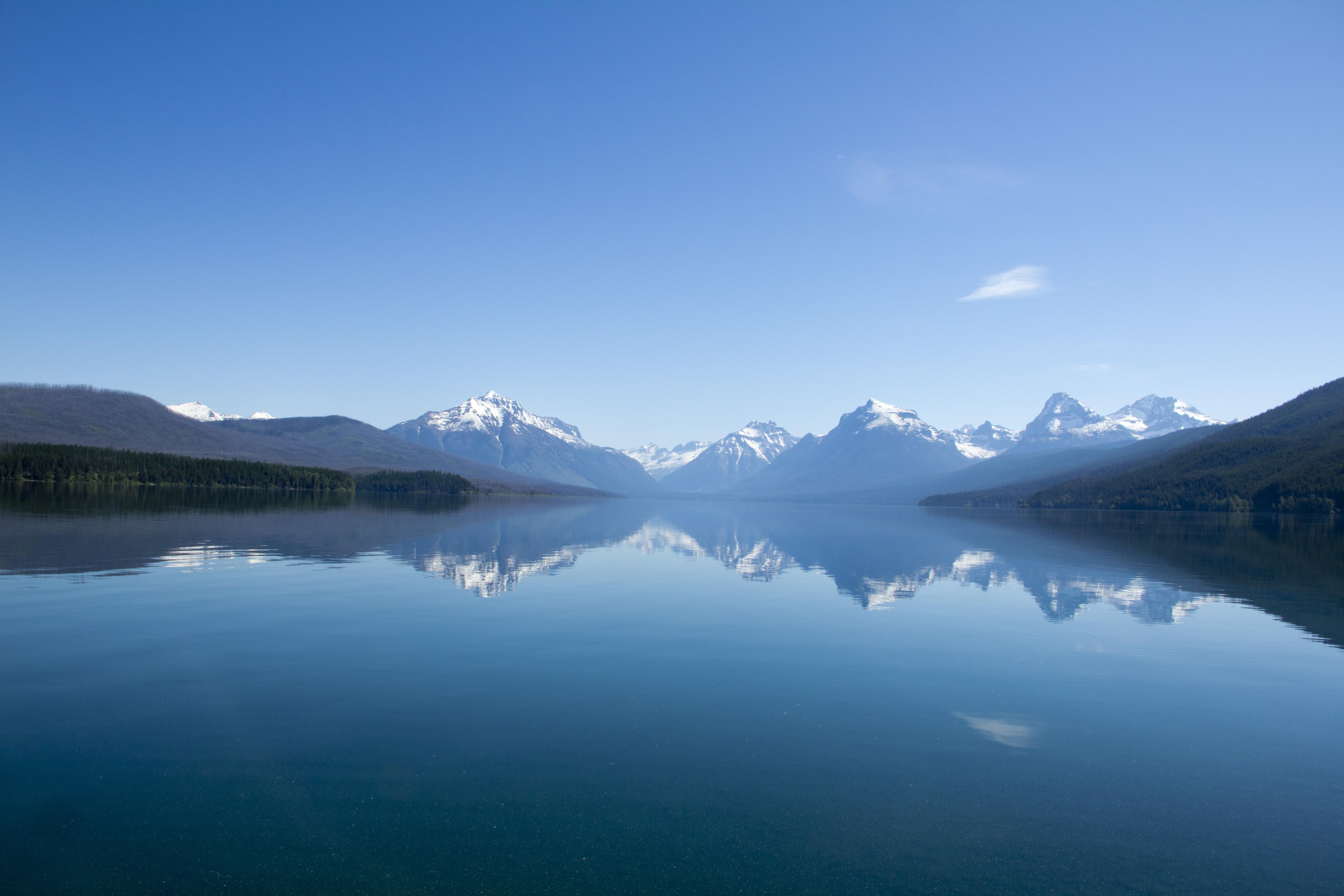 Голубое озеро в горах  № 2798934 без смс