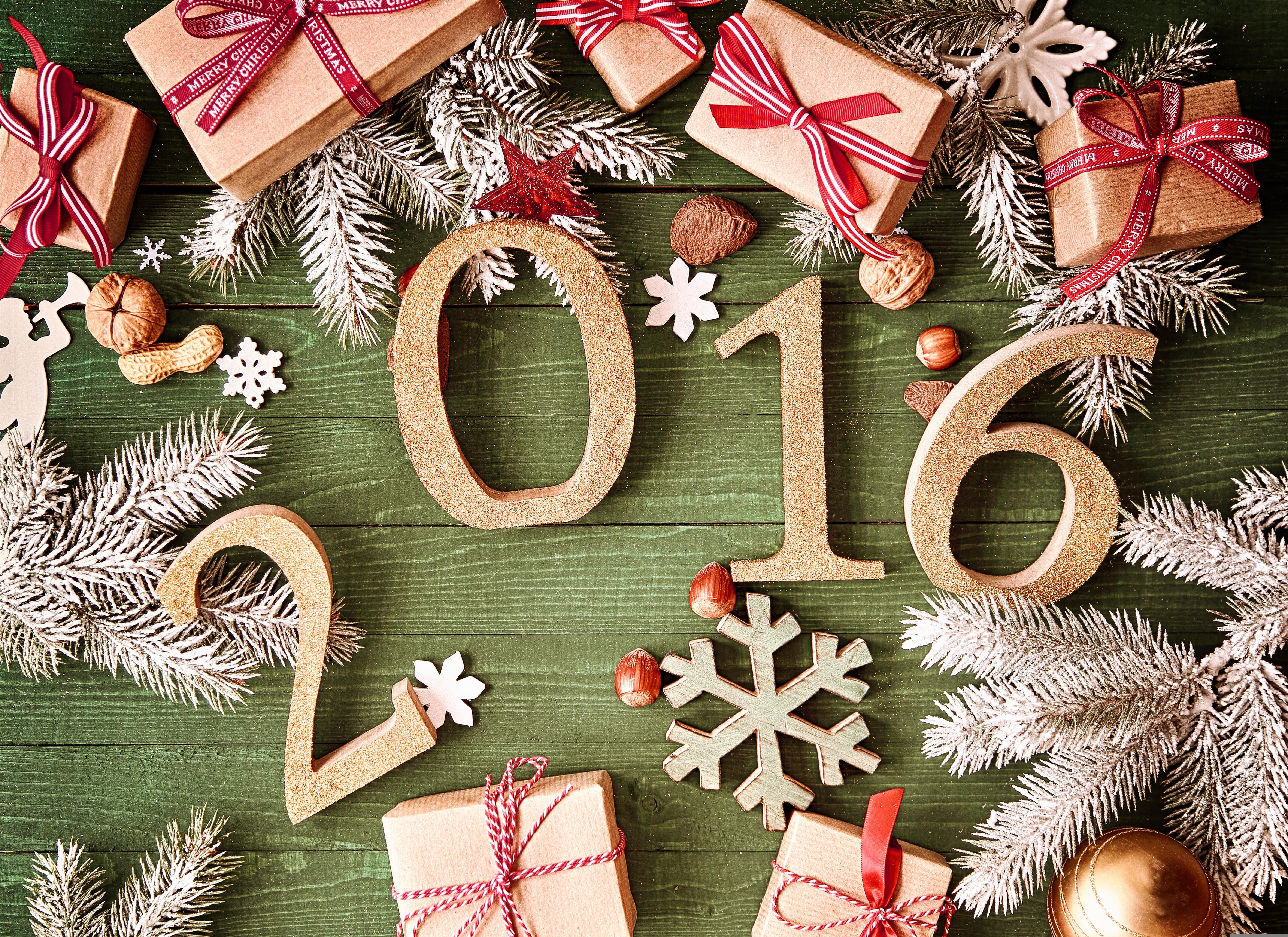 Открытки для нового 2016 года