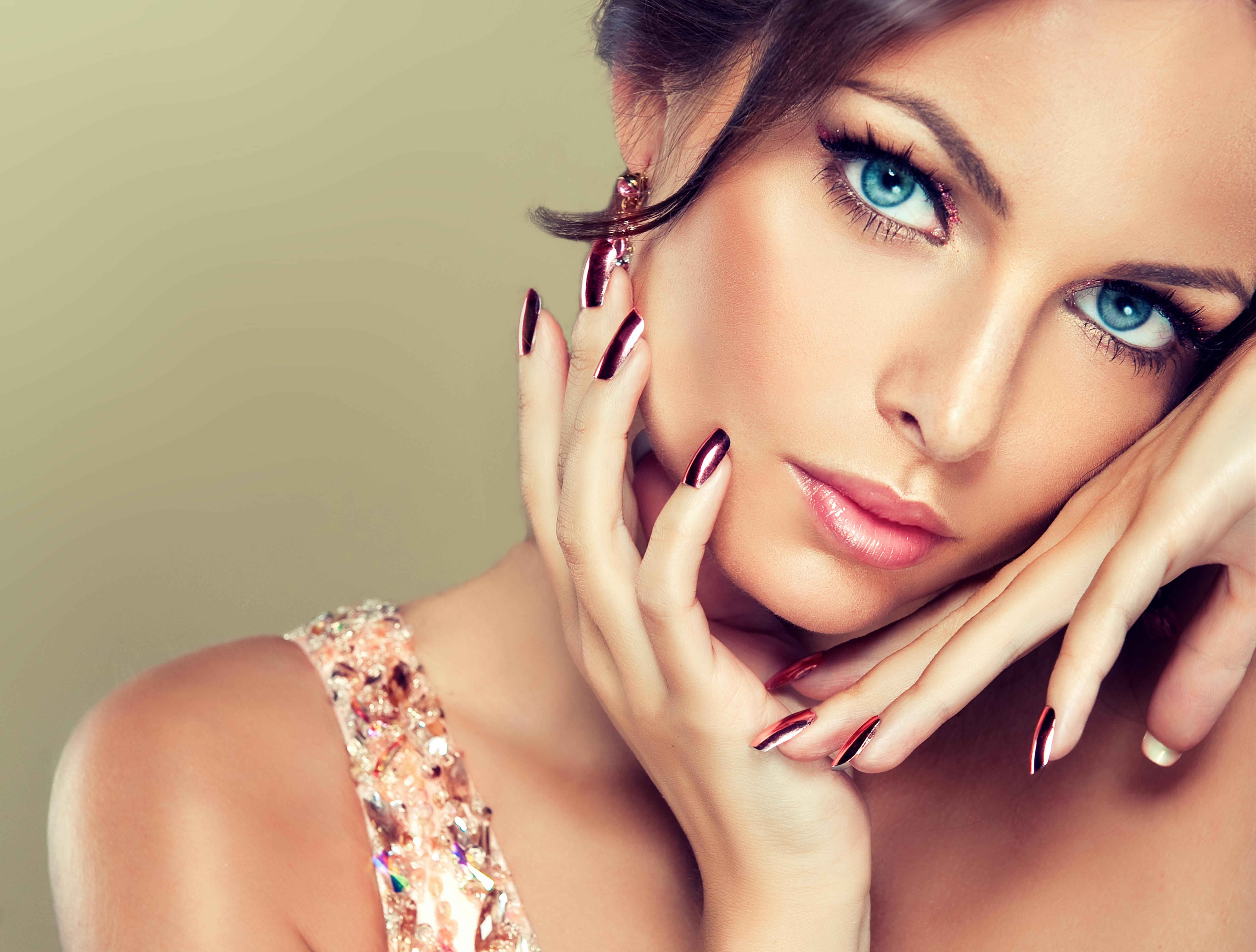 Открытки, картинки про красоту девушки