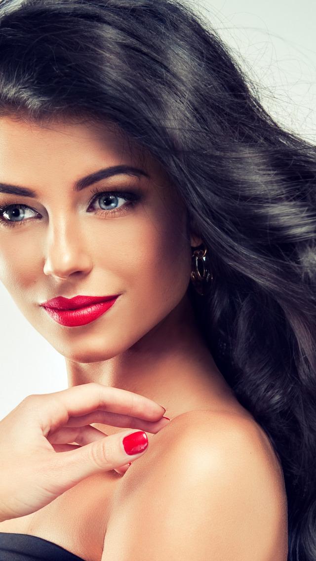 Гифы красивые девушки с красивыми глазами