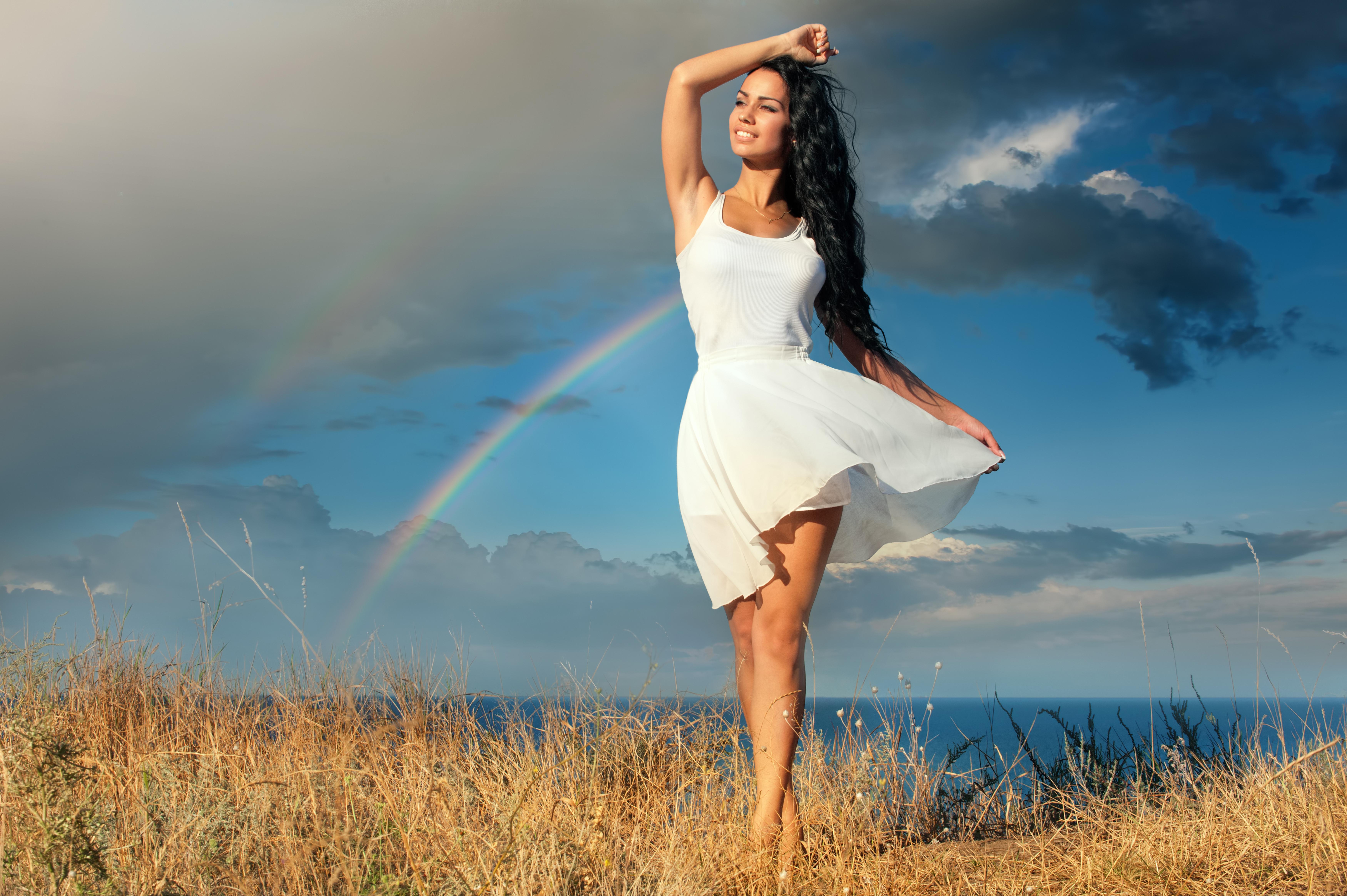 Девушка позитивная картинки, открытка своими руками