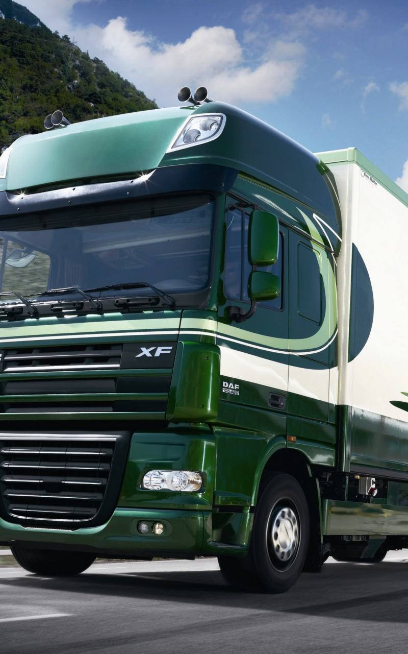 DAF trucks  Truck wallpapers  Wallpeu