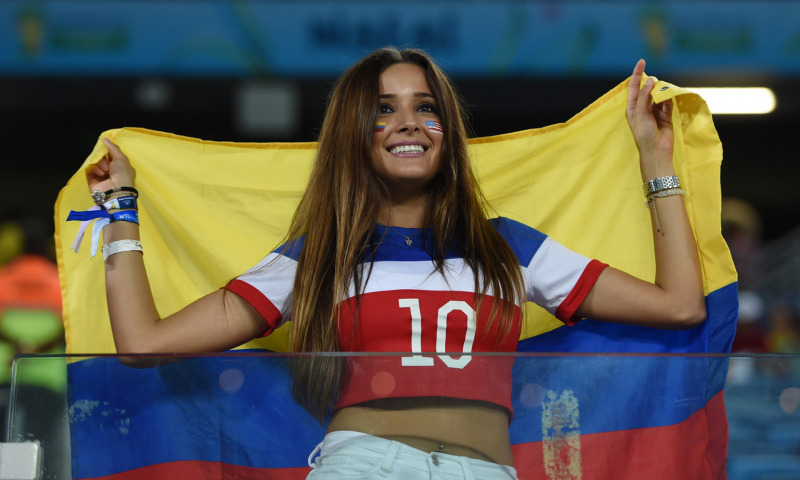 Женщины в футболе. Футбольные фанатки
