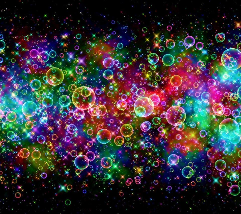 будто обои цветных мыльных пузырей картинки человек