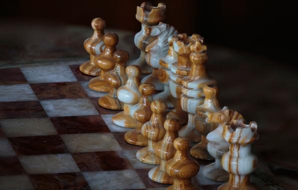Картинка игра, шахматы, доска, искусство, фигуры