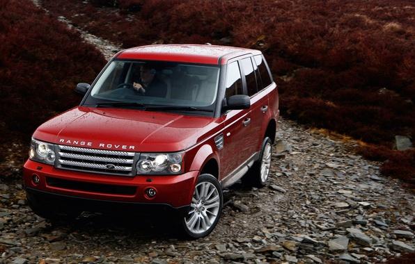 Картинка Спорт, Машина, Land Rover, Range Rover, Car, Внедорожник, Sport, Рэйндж Ровер, Ленд Ровер