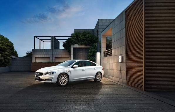 Картинка Volvo, вольво, S60, электрокар