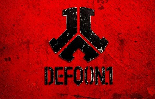 Картинка минимализм, символ, Нидерланды, Hardcore, Hardstyle, фестиваль, Defqon 1, Djs, Q-Dance