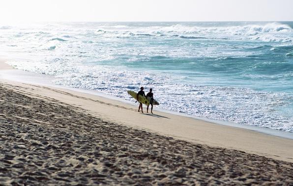 Картинка песок, море, волны, пляж, лето, небо, пена, вода, брызги, океан, отдых, relax, summer, парни, beach, …