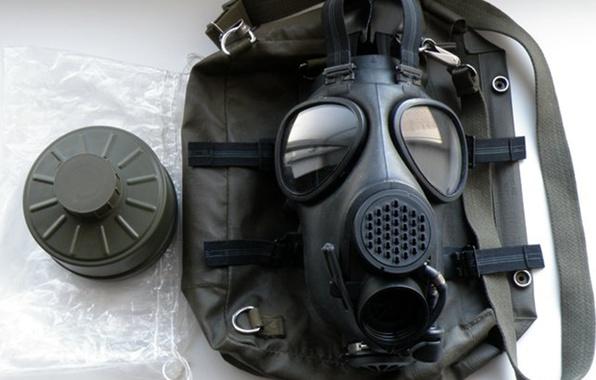 Картинка радиация, противогаз, хим защита, серия (007)
