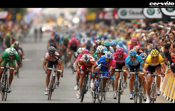 Картинка велосипед, победа, гонка, соревнования
