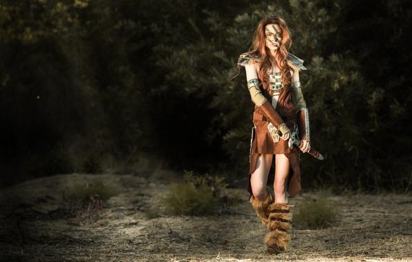 Картинка охотница, Women, The Elder Scrolls, The Elder Scrolls V Skyrim, Cosplay, Эйла, Aela