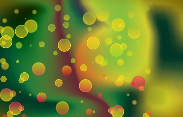 Картинка цвета, абстракция, пузыри, фон, обои, яркие, графика, картинка