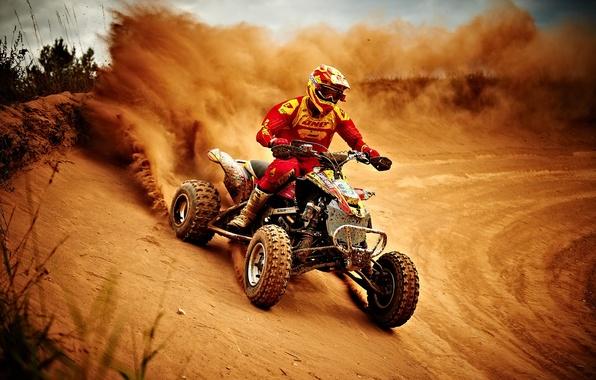 Картинка гонка, спорт, мотоцикл