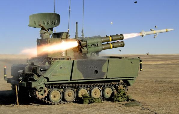 Картинка ракетный, комплекс, самоходный, зенитный, ADATS, противотанковая система