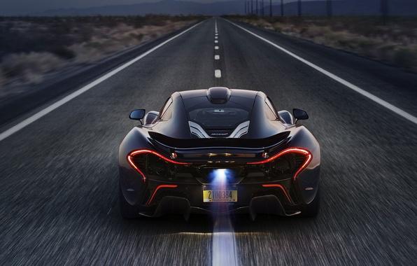 Картинка Авто, Суперкар, 2014, Шоссе, McLaren P1