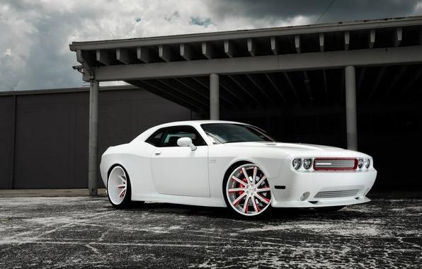 Картинка car, авто, тюнинг, додж, Dodge Challenger, muscle car