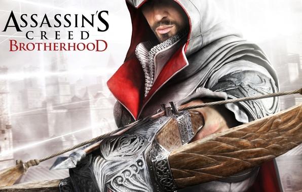 Картинка assassins creed, games, brotherhood, братсво