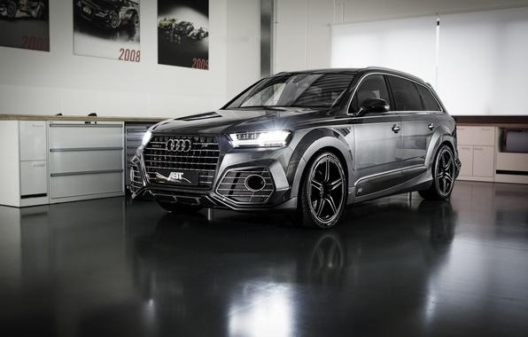 Картинка Audi, ауди, черный, Black, ABT