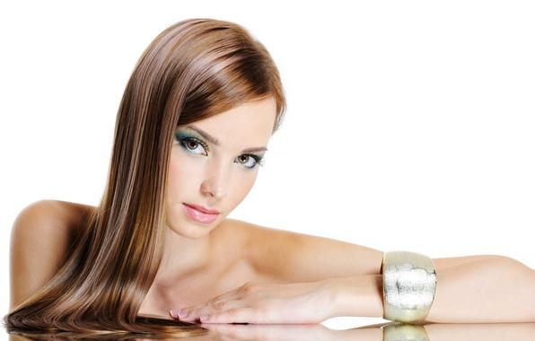 Картинка model, hair, make-up, jewelry