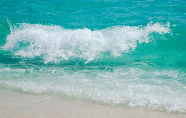 Картинка песок, море, пляж, лето, пена, отдых, берег, волна, отпуск