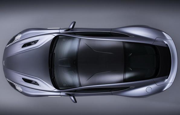 Картинка Aston Martin, астон мартин, вид сверху, Vanquish, ванквиш, Centenary Edition