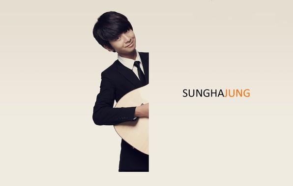 Картинка гитарист, композитор, фингерстайл, Sungha Jung