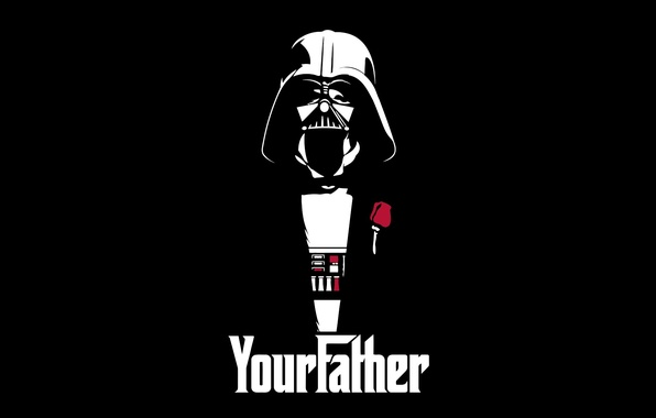 Картинка Star Wars, Darth Vader, art, Дарт Вейдер, your father