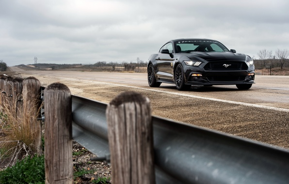 Картинка Mustang, Ford, мустанг, форд, Hennessey, Supercharged, HPE700, 2015