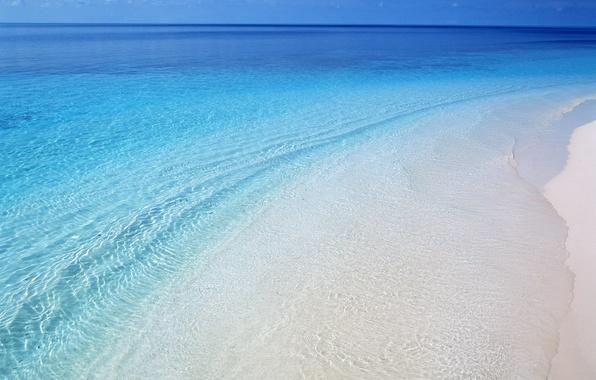 Фото beach пляж берег вода волны море