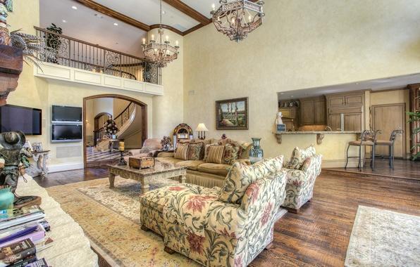 Living Room Home Luxury Dallas Texas