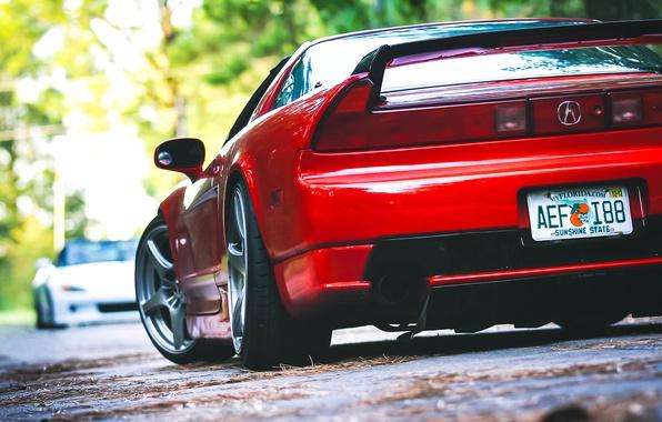 Картинка red, honda, tuning, nsx, Acura, s2000