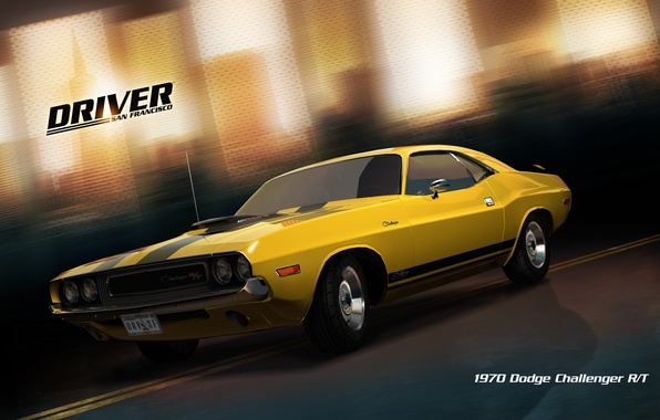 driver san francisco картинки ford challenger