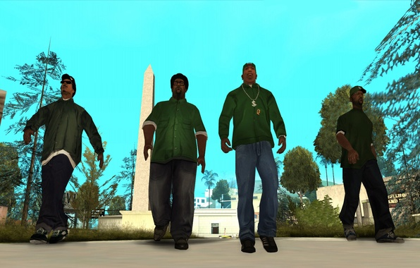 Grand theft auto san andreas сан андреас карл