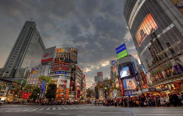 Картинка japan, Shibuya, Sunset