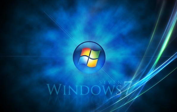 Картинка Windows, windows 7, microsoft, абстракцыя