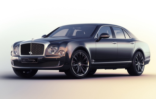 Картинка Bentley, бентли, Mulliner, 2015, Mulsanne, Speed Blue Train