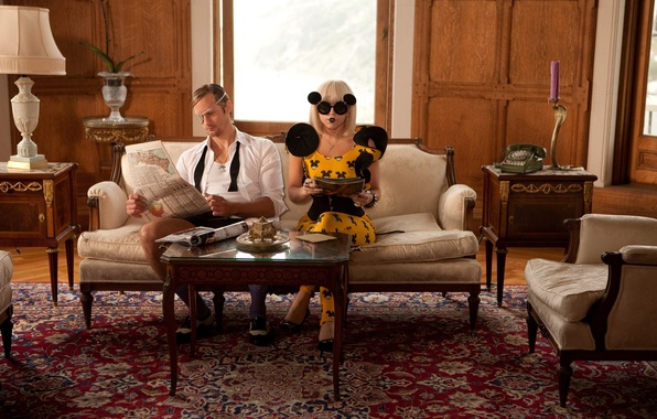 Картинка девушка, music, актриса, певица, fashion, знаменитость, room, interior, fame, Lady Gaga, pop, Леди Гага, mouse, …