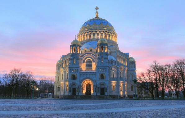 Картинка Россия, Морской Никольский собор, Кронштадт