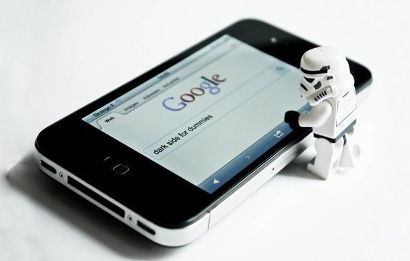 Картинка Star Wars, Звёздные войны, Lego, Iphone, Темная сторона для чайников, Клон, Dark Side For Dummies