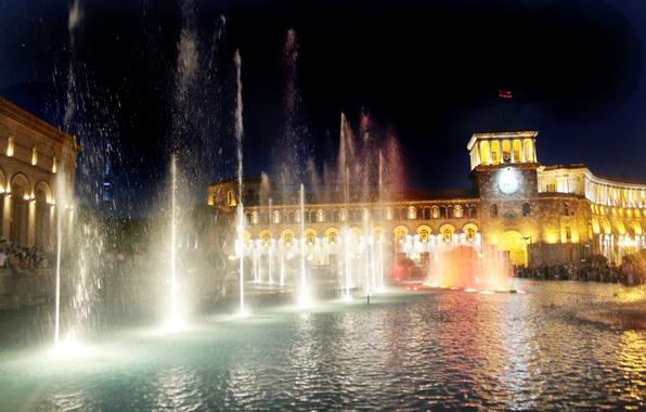 Обои картинки фото город, армения, пейзаж