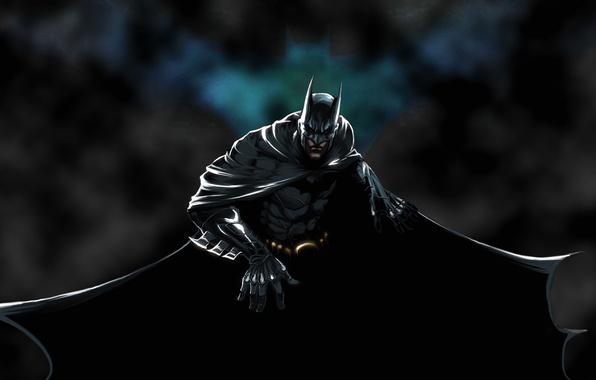 Картинка плащ, Batman, Arkham