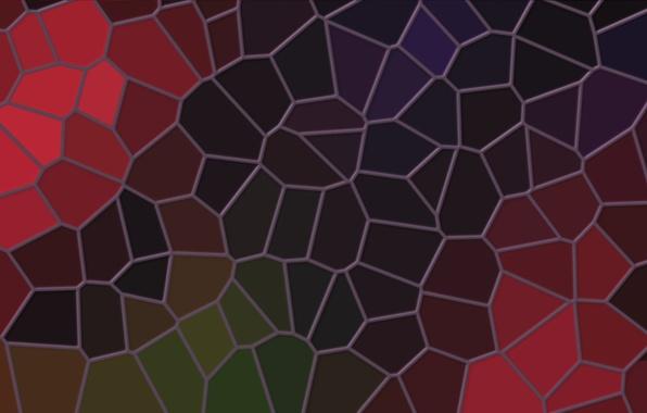 Картинка линии, мозаика, абстракция, фон, обои, цвет, текстура, Витраж