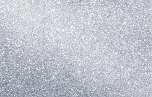 Картинка фон, серебро, текстура, блестки