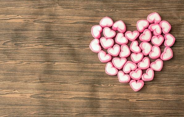 Картинка любовь, романтика, сердце, конфеты, сердечки, love, heart, romantic, сладкое, sweet, candy, зефир