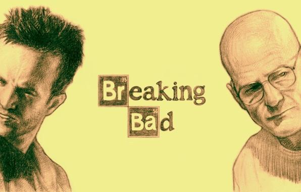 Картинка лица, сериал, art, breaking bad, во все тяжкие, Bryan Cranston, AMC, Walter White, Aaron Paul, …