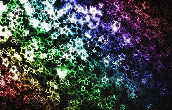 Картинка абстракция, текстура, звёзды, stars