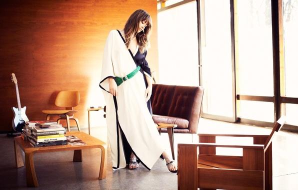 Картинка девушка, стиль, интерьер, актриса, Olivia Wilde, celebrity