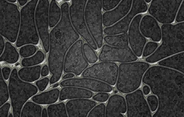 Картинка серый, клетки, оболочки