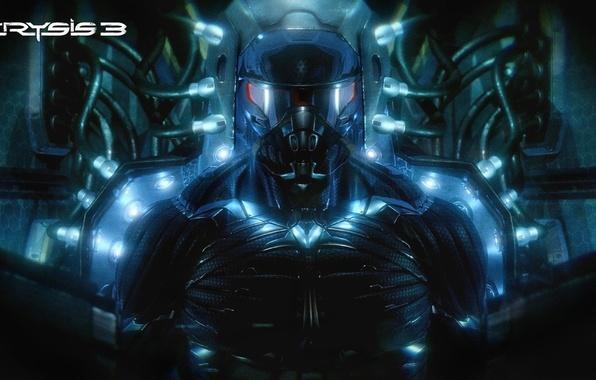 Картинка Crysis, нанокостюм, Crytek